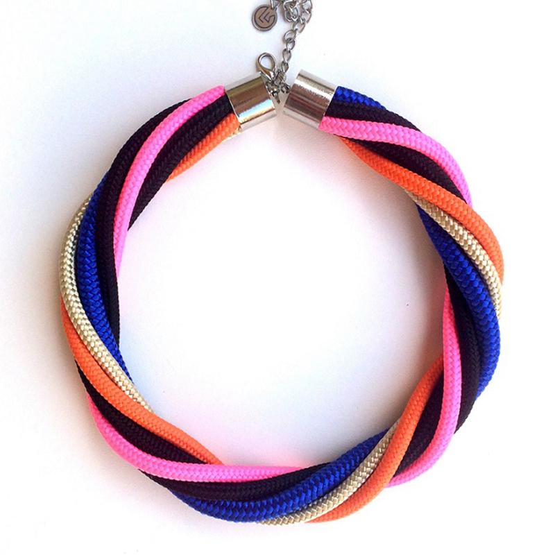 ékszer nyaklánc krisztina lango kötél ékszer